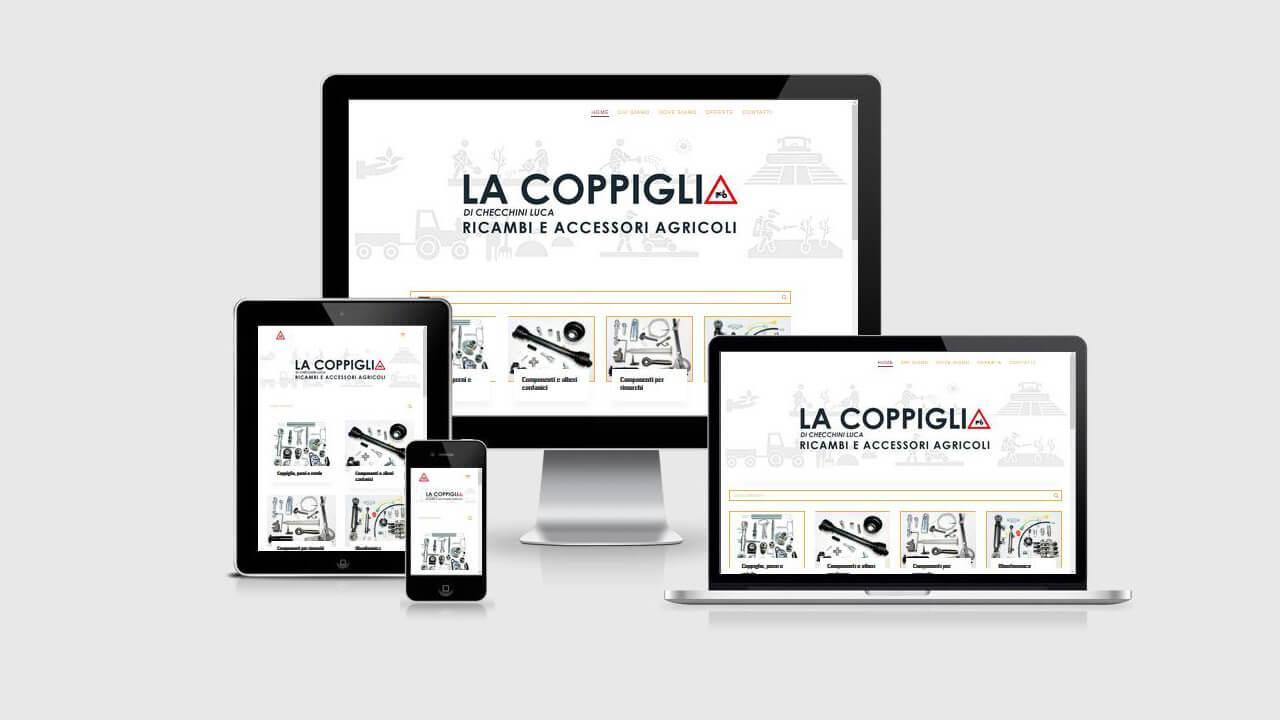 La Coppiglia sitoweb WordPress Divi